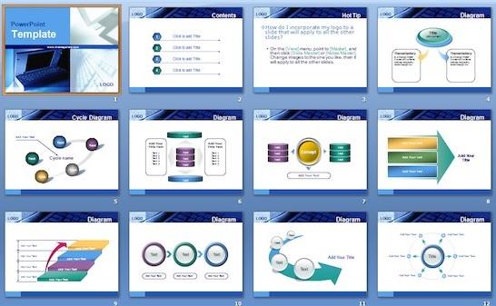 Plantillas para presentaciones comerciales en PowerPoint
