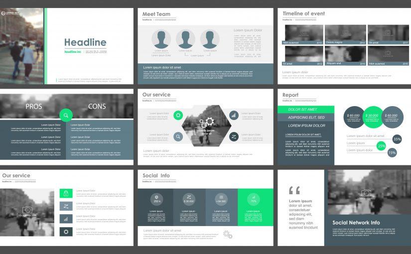 Plantillas para presentación de fotos en PowerPoint