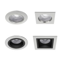 Recessed spotlights collection 3d model