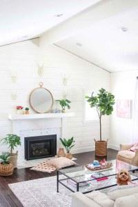 Boho Glam Spring Living Room