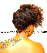 Black Natural Hair Styles, for Transitioning and