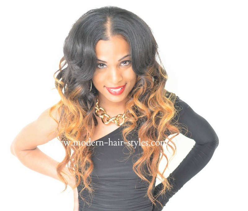 Sew In Weave Hairstyles With Bangs | Best Hairstyles Collections