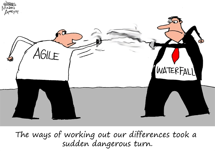 Agile vs Waterfall - Resolving the Differences