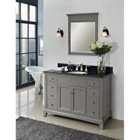 "Fairmont Designs 48"" Smithfield Vanity - Medium Gray ..."