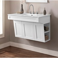 "Fairmont Designs Shaker Americana 36"" Wall Mount Vanity ..."