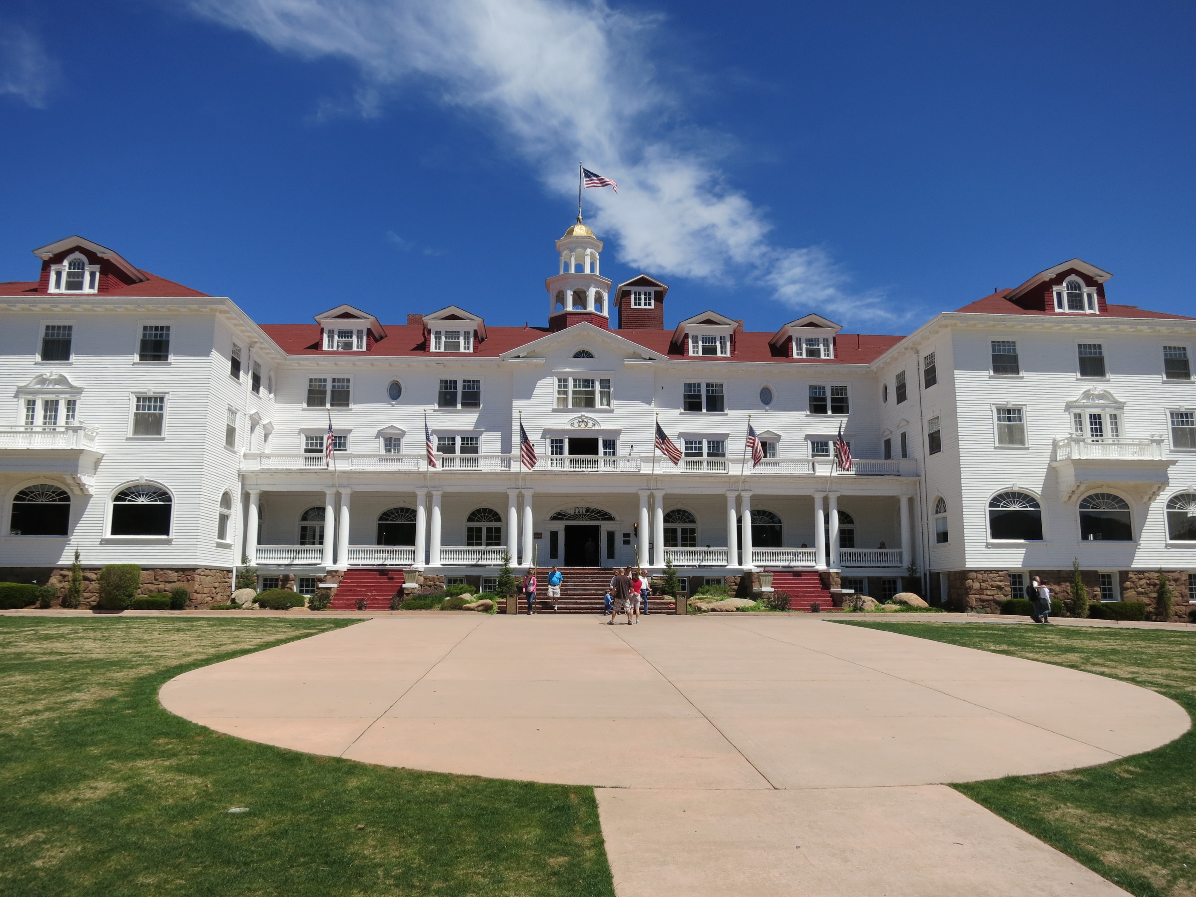 The Stanley Hotel Estes Park Co Escaping The Mundane