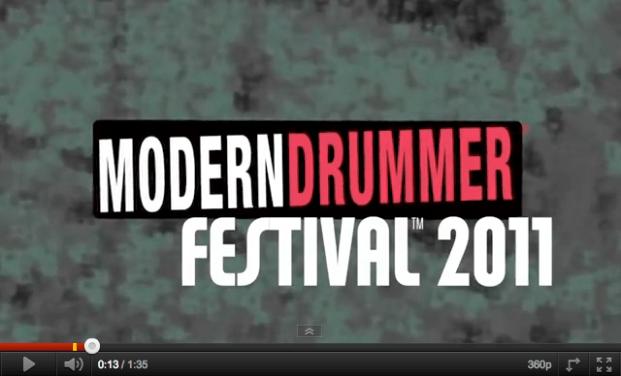 Modern Drummer Festival 2011 screen shot