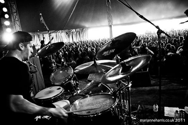 Drummer Andrew Tkaczyk of the Ghost Inside Blog