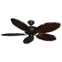 "42"" Outdoor Tropical Ceiling Fan Oil Rubbed Bronze Finish ..."