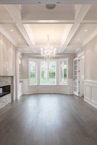 Millwork Adds Architectural Detail to Uplands Manse ...
