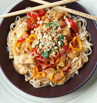 Thai Chicken Noodles – Modern Honey