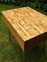 DIY butcher block coffee table   Small spaces and DIY ...