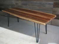 Beautiful Tables with 3 Rod Hairpin Legs  Modern Legs