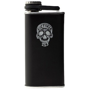 Gifts: Stanley Ink skull flask