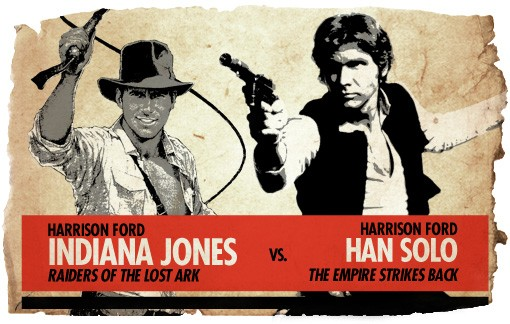 Ultimate Action Hero Showdown Indiana Jones vs. Han Solo