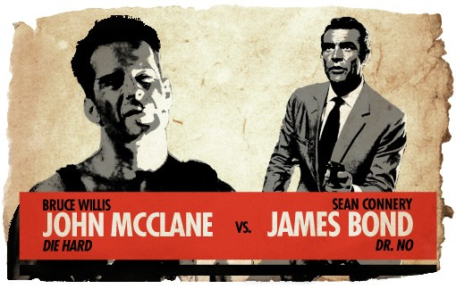 Action Hero Showdown John McClane vs. James Bond