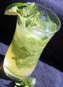 Spice Margarita With Mint