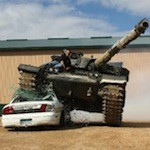 Driving Tanks And Shooting Guns! <br>With Ladies!