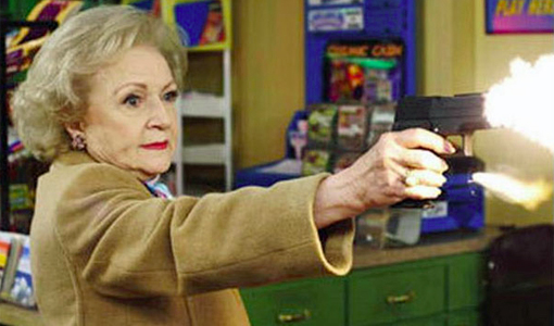 Betty White Guns
