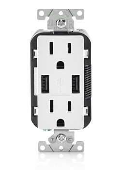 usb levitron wall socket 15 amp