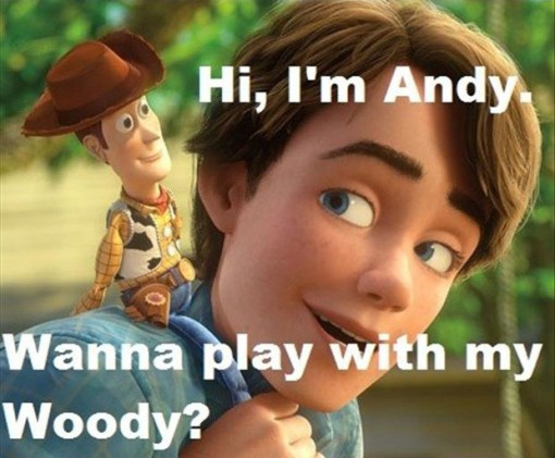 the funniest pick up lines toy story