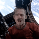 "Video: Astronaut Performs ""Space Oddity"" on Space Station"