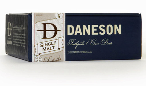 Booze Toothpicks daneson single malt