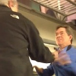 Video: Dads Fight Each Other on a Commuter Train