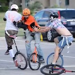 Unicycle Football? Unicycle Football!