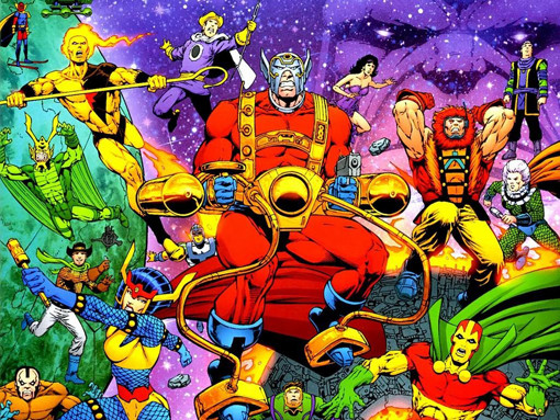 Screw The Fantastic Four Reboot new gods
