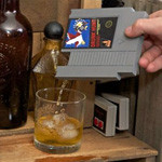 Stuff We Want: NES Game Flasks