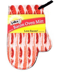 bacon oven mitt for guys