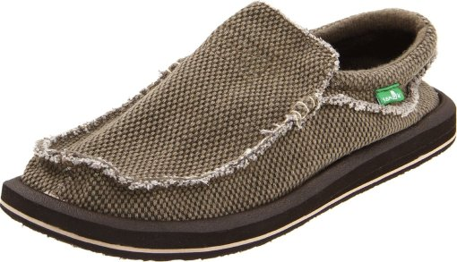 Sanuk slip on shoes for men