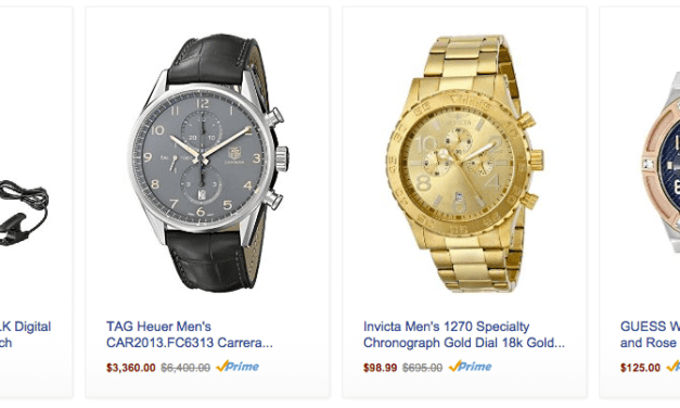 Watches Are 20% Off At Amazon.com Right Now