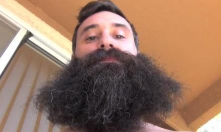 Dude Records Beard Growth For A Year, Sports Monster Face Bush [Video]