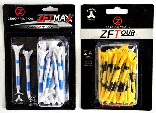 Zero Friction golf tees