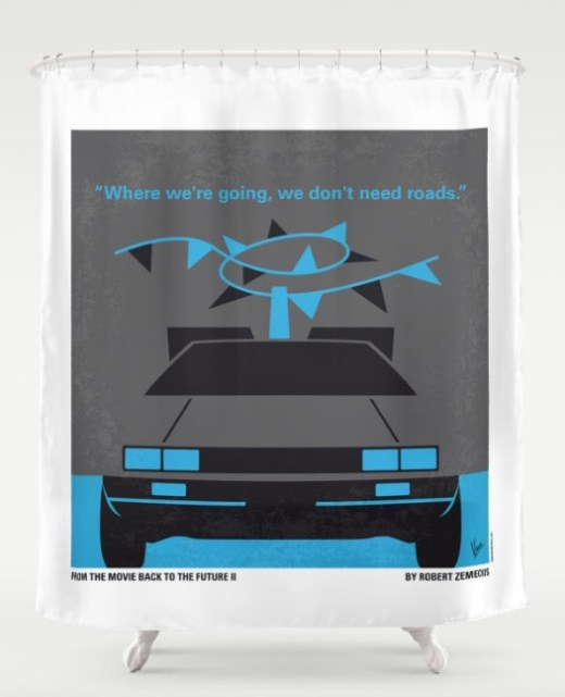 no183-my-back-to-the-future-minimal-movie-poster-part-ii-shower-curtains