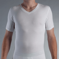 Single V Neck best mens undershirts