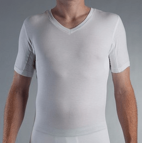 Style modern man for Sweat stains on shirt