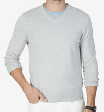 nautica mens v neck