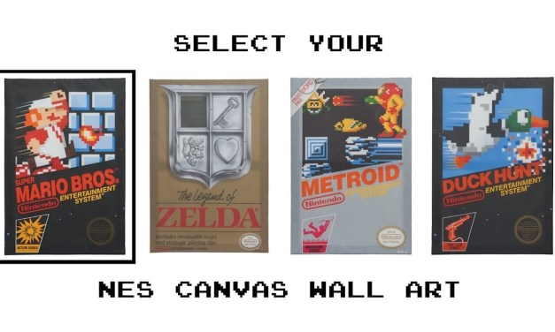 NES Canvas Art You Need To Own Immediately