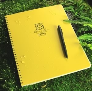 Rite in the Rain 313-MX : Weatherproof Maxi Notebook - Level