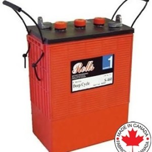 Rolls S-550, 6V, 550AHr, Flooded Deep Cycle Battery