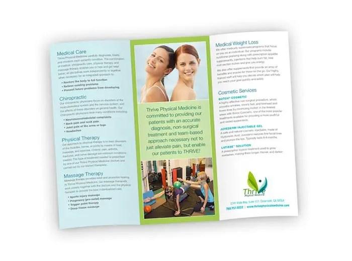 Newsletter Printing, Brochure Printing Modern Postcard