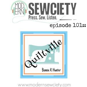 Bonnie Hunter podcast episode 101