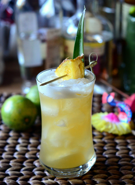 Yellow Bird Tiki Cocktail