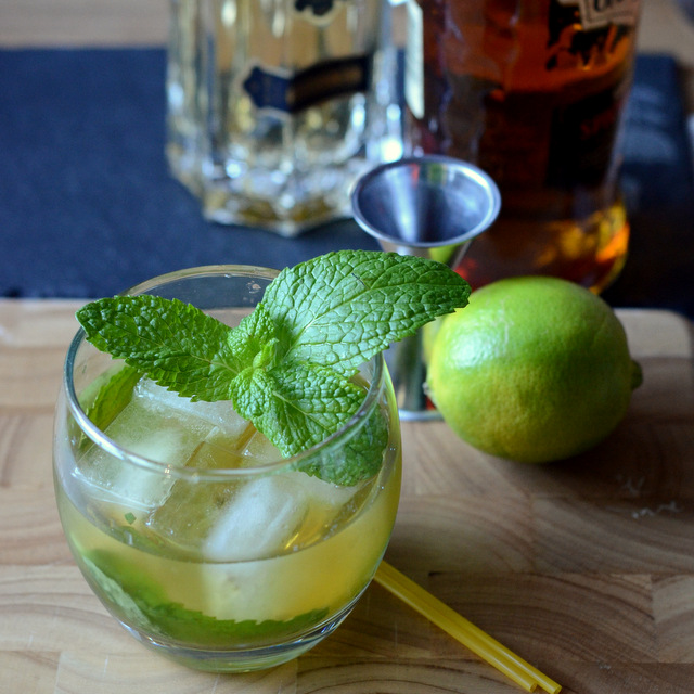 Spiced St. Germain Punch