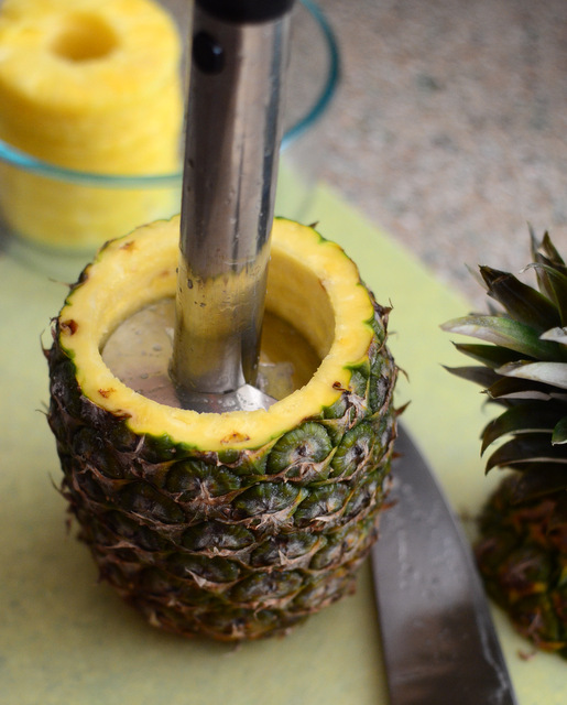 How to Make a Pineapple Jack o' Lantern
