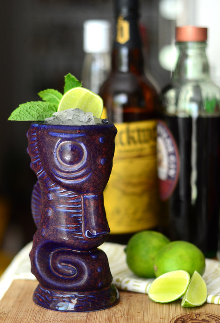 The Cobra Effect, a tiki cocktail