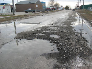 Potholes in Lifes Big Financial Steps